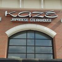 Photo prise au Kaze Japanese Steakhouse & Sushi par George L. le4/17/2013