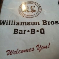 Photo taken at Williamson Brothers Bar-B-Q by George L. on 9/14/2012