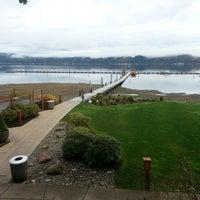 Photo taken at Alderbrook Resort & Spa by Frank J. K. on 10/25/2012