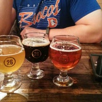 Photo taken at Station 26 Brewing Company by Lisa on 1/5/2014