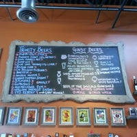 Photo taken at Trinity Brewing Company by Lisa on 10/27/2012