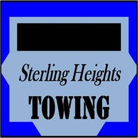 Photo taken at Sterling Heights Towing by Dan D. on 9/13/2016