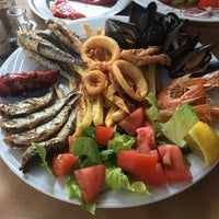 Photo taken at Taverna George by Andrei B. on 7/12/2018