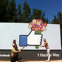 Photo taken at Facebook HQ by BDániel on 5/13/2013
