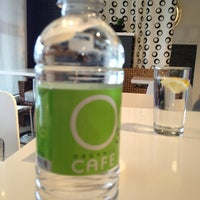 Photo taken at O3 Organic Cafe by Christopher S. on 2/19/2013