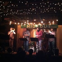 Photo taken at The Hideout by Kate B. on 3/28/2013