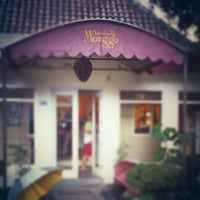 Photo taken at Chocolate Monggo Kotagede by Rossi A. on 11/17/2012