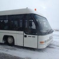 Photo taken at Перронный автобус by Мария Р. on 3/20/2013