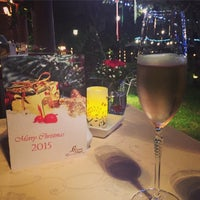 Photo taken at Le Crystal Restaurant by Sawat N. on 12/24/2014