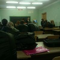Photo taken at ЛУ им. Даля (3-й корпус) by Anna R. on 10/19/2012