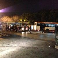 Photo taken at Bornova Metro Otobüs Durağı by Umut B. on 2/1/2013