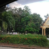 Photo taken at Khao Chaison Intersection by Narttaya K. on 12/1/2012