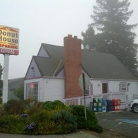 Photo taken at Donut House by Randy on 10/7/2014