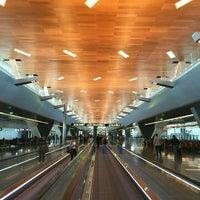Photo taken at Hamad International Airport (DOH) by Burak on 2/8/2016