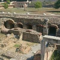 Photo taken at Ancient Agora by Burak on 8/27/2015