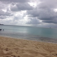 Photo taken at Petite Plage by Myriam on 7/30/2014