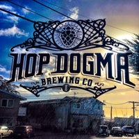 Photo taken at Hop Dogma Brewing Co. by Max E. on 3/2/2014