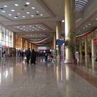 Photo taken at Mashhad International Airport (MHD) by Mohammad Reza D. on 1/30/2014