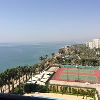 Photo taken at Mersin HiltonSA Hotel by Metcho on 4/6/2016