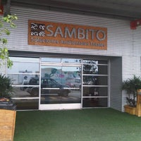 Photo taken at SAMBITO by Wendy on 10/16/2012