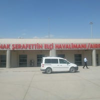 Photo taken at Şırnak Şerafettin Elçi Airport (NKT) by safak b. on 8/9/2013