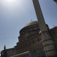 Photo taken at Hatuniye Camii by Murat I. on 9/11/2015