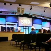 Photo taken at Charis Christian Center by Sam on 8/10/2014