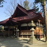 Photo taken at 八王子神社 by とめ on 4/15/2016