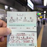 Photo taken at 上諏訪駅 1番線ホーム by とめ on 9/30/2017