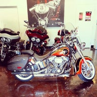 Photo taken at Los Angeles Harley-Davidson of Anaheim by Andrew M. on 10/15/2013