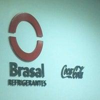 Photo taken at Brasal Refrigerantes (Coca-Cola) by Gabriela S. on 7/9/2013