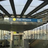 Photo taken at Plac Wilsona by Radek G. on 11/28/2012
