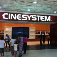 Photo taken at Cinesystem Cinemas by Fabricio on 6/14/2013