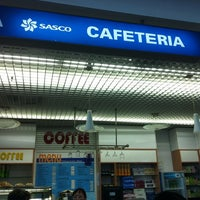 Photo taken at Sasco Cafeteria by Asia on 12/19/2012