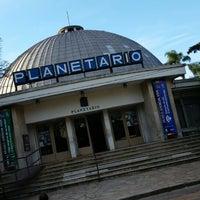 Photo taken at Planetario Germán Barbato by Federico C. on 9/27/2014