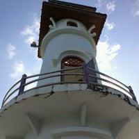 Photo taken at Bang Bao Lighthouse by Aleksander K. on 11/7/2012
