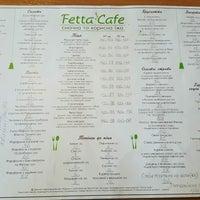 Foto diambil di Fetta Cafe oleh Ника . pada 9/7/2016
