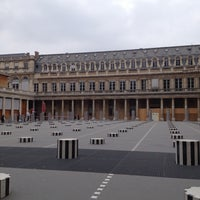 Photo taken at Palais Royal by Vildan Y. on 4/26/2013