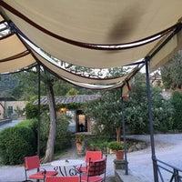 Photo taken at Relais Il Falconiere Hotel Cortona by Vildan Y. on 10/15/2016