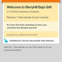 Photo taken at Berryhill Baja Grill by R . on 4/28/2013