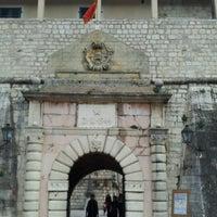 Photo taken at Vrata od Mora (Sea/Main Gate) by Elle T. on 2/16/2013