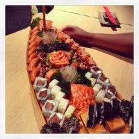 Photo taken at Joy Sushi by Samuel A. on 3/31/2013