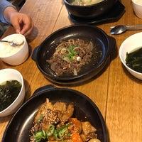 Photo taken at Eid (Korean Muslim Restaurant) by Nasuha M. on 5/13/2017