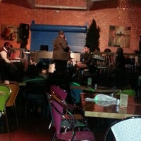 Photo taken at Acoustix Jazz Restaurant And Lounge by Maria-Esmeralda R. on 12/9/2012