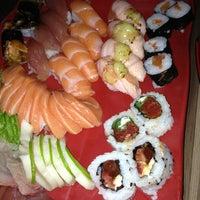 Photo taken at Ebisu Sushi Bar by Julio F. on 3/2/2013