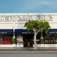 Photo taken at American Rag Company by Racked on 12/22/2014