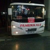 Photo taken at Pamukkale Turizm by Mert G. on 3/28/2013
