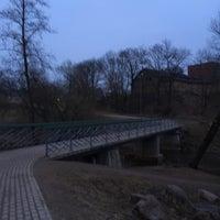Photo taken at Spodrības tiltiņš by Саманта Э. on 3/26/2018