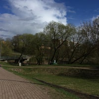 Photo taken at Spodrības tiltiņš by Саманта Э. on 4/26/2018