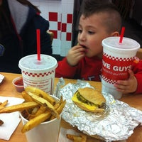 Photo taken at Five Guys by Valerie Ann O. on 12/11/2012